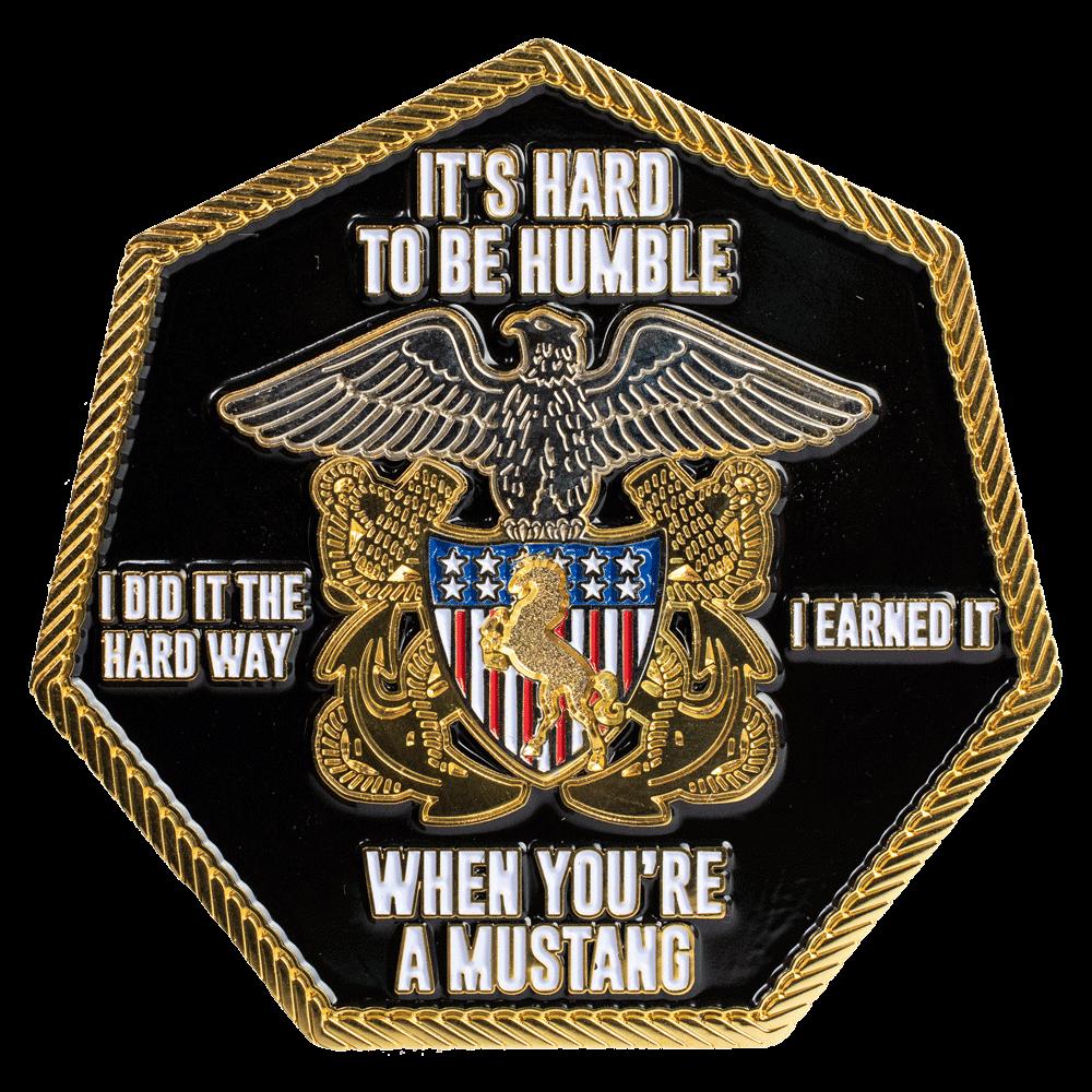 Navy Challenge Coins - Metalpromo