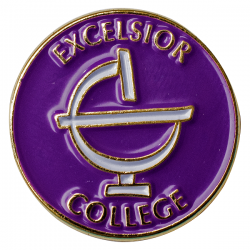 Excelsior College Pin